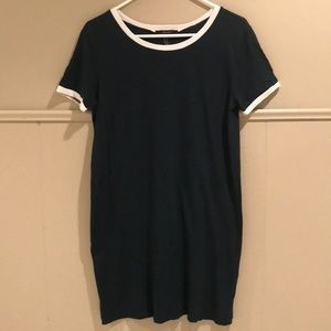 Forever 21 dark green T-shirt dress
